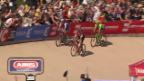 Video «Paris-Roubaix: Taktieren geht fast ins Auge» abspielen