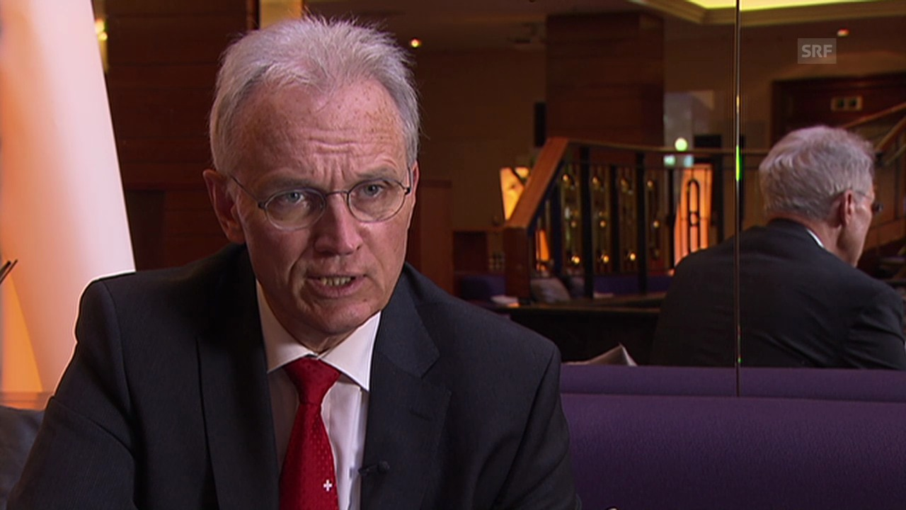 Hans-Ulrich Bigler zur finanziellen Belastung