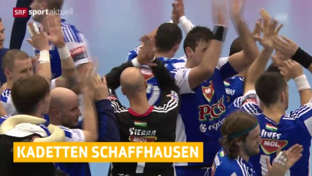 Video «Handball: Champions League, Szeged - Kadetten» abspielen