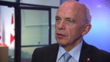Video «Ueli Maurer über die Zusammenarbeit mit Italien» abspielen