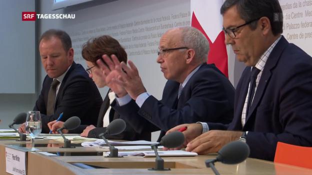 Video «Neuer Anlauf für Unternehmenssteuerreform» abspielen