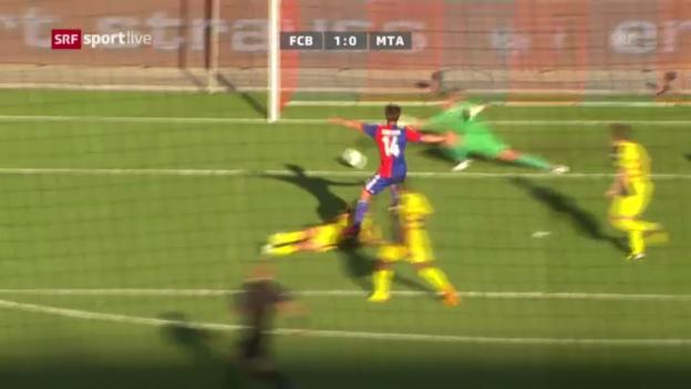 Video «Fussball: Zusammenfassung Basel - Tel Aviv» abspielen