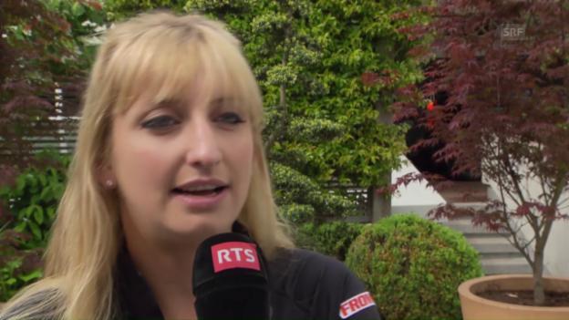 Video «Timea Bacsinszky vor den French Open» abspielen