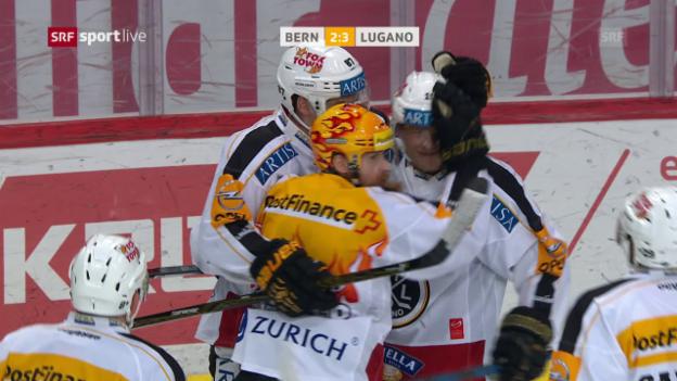 Video «Zusammenfassung Bern - Lugano» abspielen