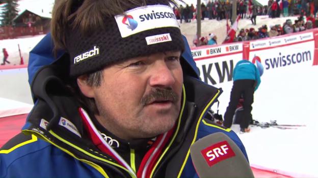 Video «Cheftrainer Stauffer: «Wir müssen das zeigen, was wir können»» abspielen