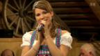 Video «Baby-News bei Schlagersängerin Yasmine-Mélanie» abspielen