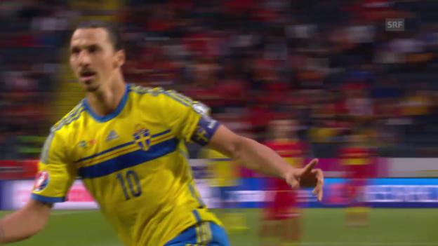 Video «Doppelpack von Ibrahimovic» abspielen