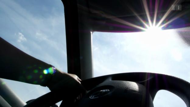 Video «Sonnenbrand durch die Autoscheibe» abspielen
