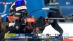 Video «Biathlon: Sprint-Rennen in Östersund» abspielen