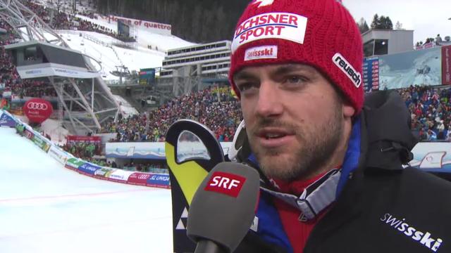 WM-Slalom: Interview Vogel