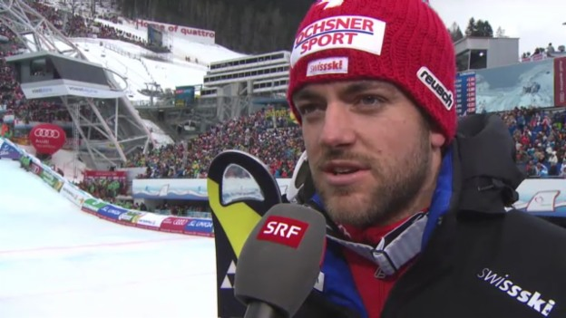 Video «WM-Slalom: Interview Vogel» abspielen