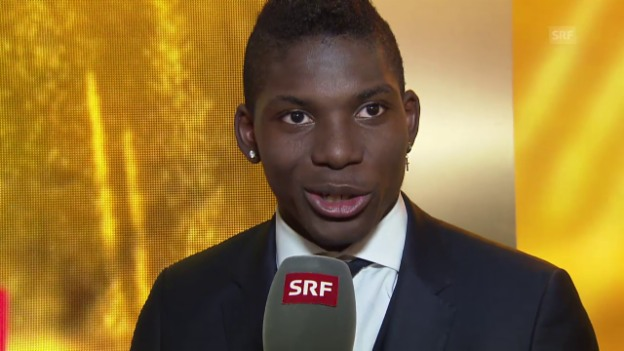 Video ««Sports Awards»: Newcomer des Jahres, Breel Embolo, im Interview» abspielen