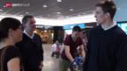 Video «Eishockey: Rückkehr der Hockey-Nati zwischen Enttäuschung und Aufbruch» abspielen