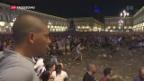 Video «Massenpanik an der Fussballparty» abspielen