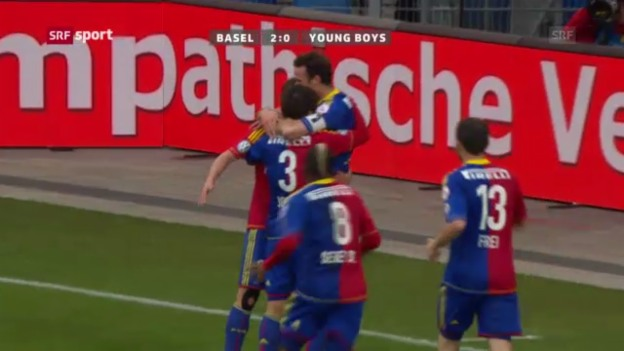 Video «Fussball: Basel-YB» abspielen