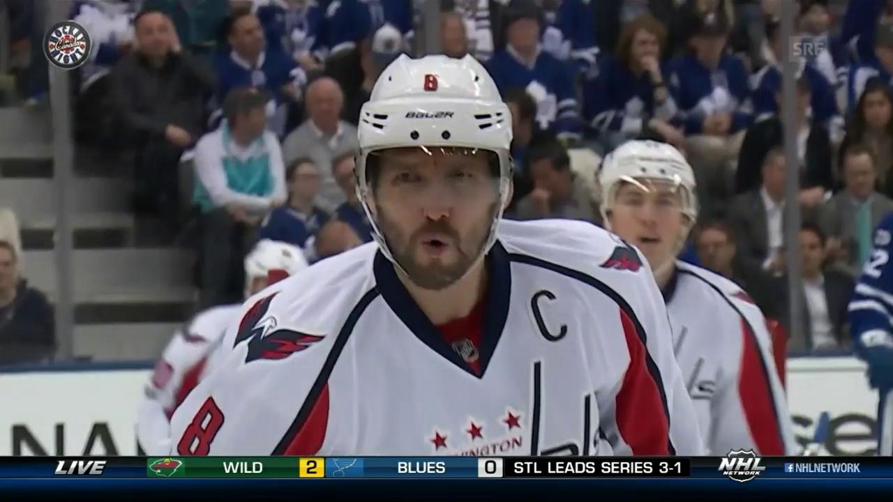 Owetschkin/Crosby: So skorten sie zuletzt (sntv)