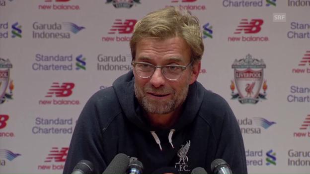 Video «Jürgen Klopp: «Ihr könnt nicht alle nach Basel kommen» (SNTV)» abspielen