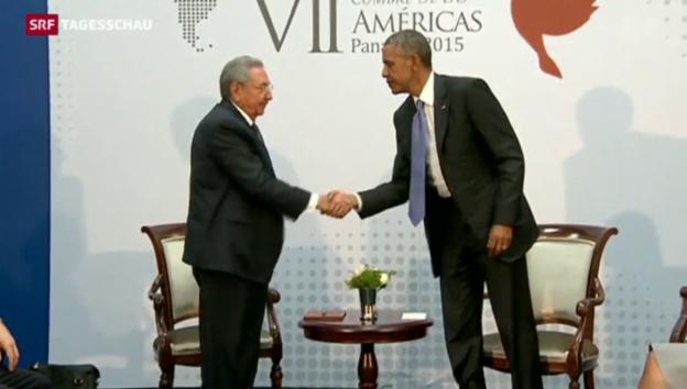 Video «Kuba und USA nähern sich weiter an» abspielen
