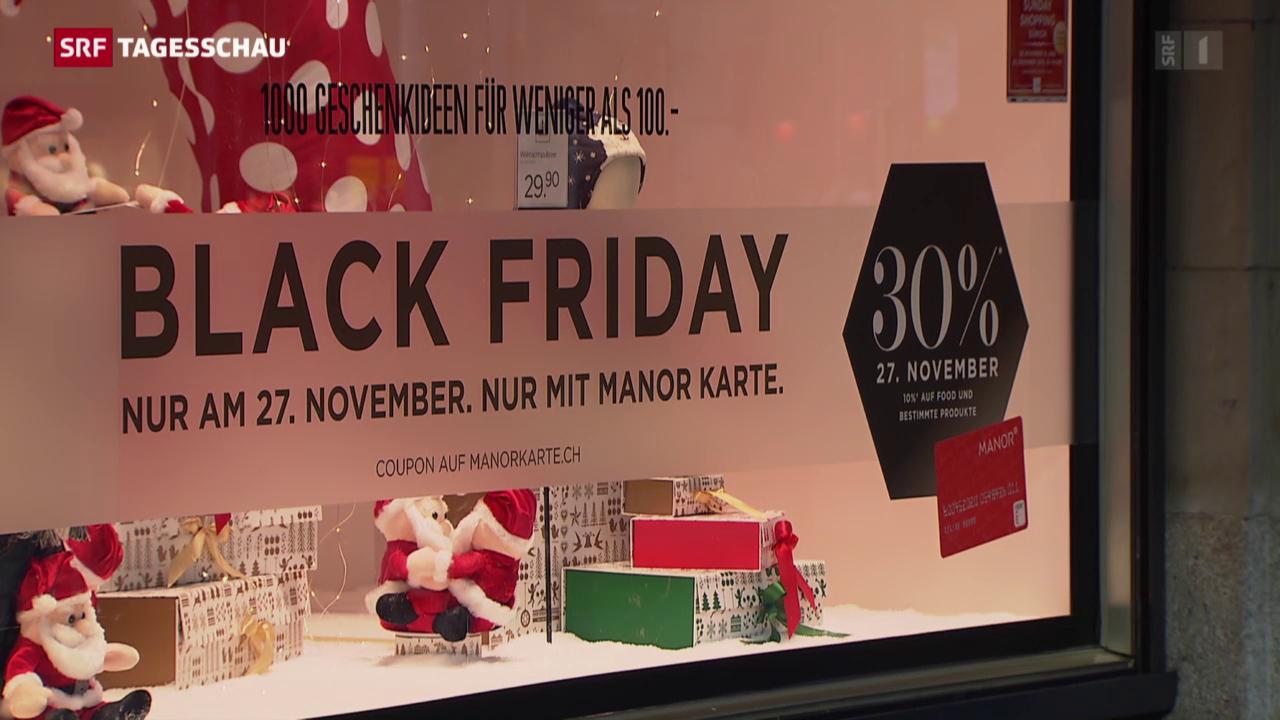 «Black Friday» auch in der Schweiz