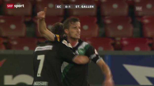 Video «Spielbericht GC - St. Gallen («sportaktuell»)» abspielen