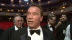 Video «Arnold Schwarzenegger wird als Legende gefeiert» abspielen