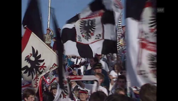 Video «FC Aarau wird Meister - Sportpanorama 23.05.1993» abspielen