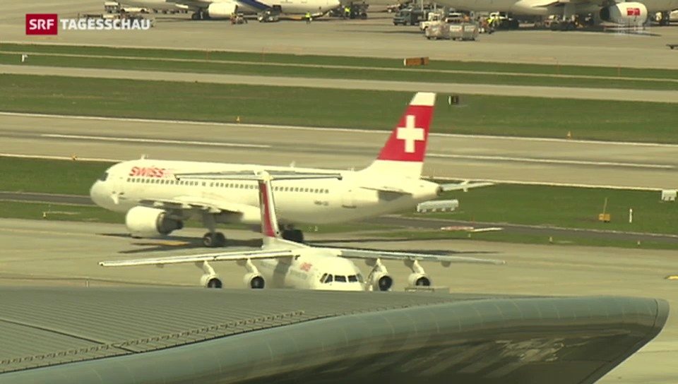 Flugrouten über Krisengebiet