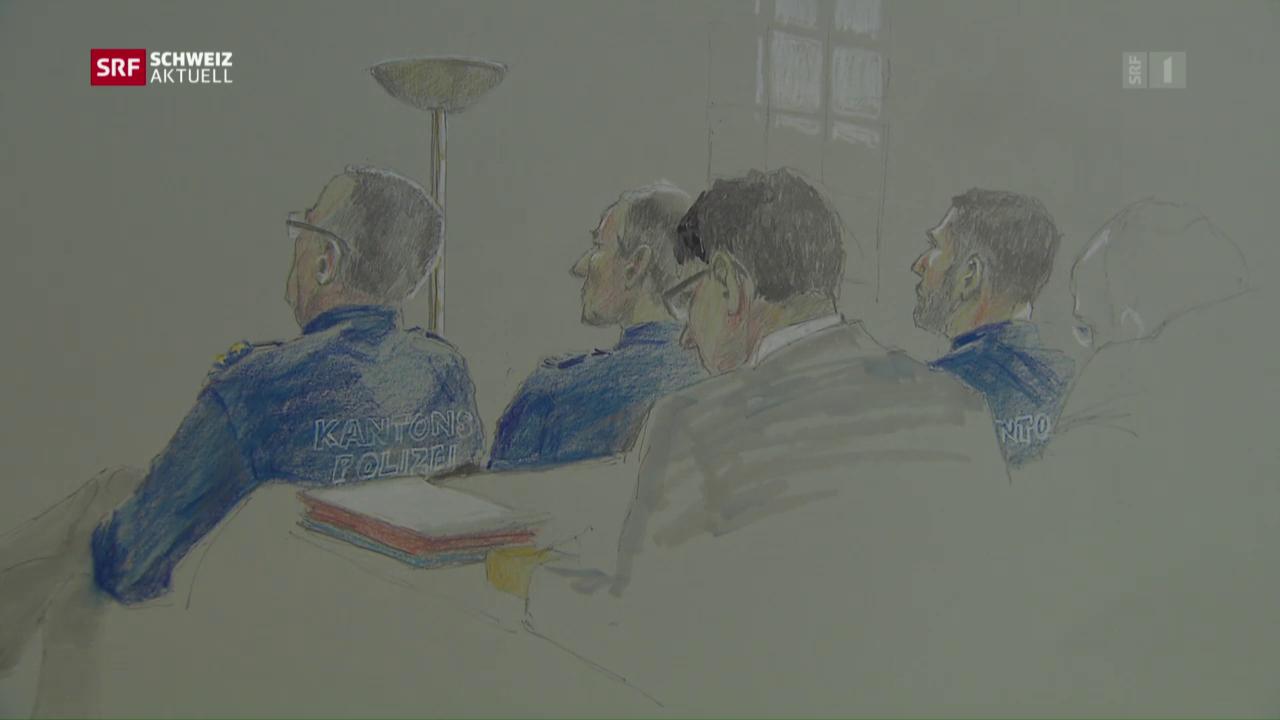 Elitepolizisten vor Gericht