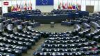Video «Masseneinwanderungsinitiative erneut Thema im EU-Parlament» abspielen