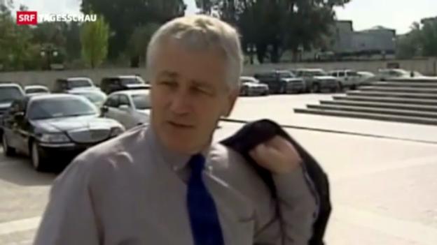 Video «Obamas neuer Verteidigungsminister» abspielen