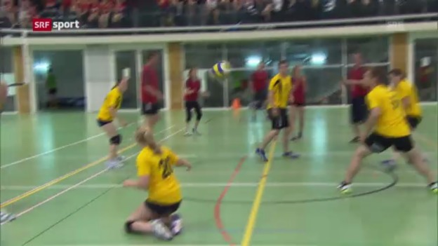Video «ETF: Die Organisation der Volleynight» abspielen