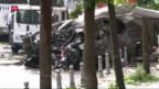 Video «Anschlag auf Polizeibus in Istanbul» abspielen