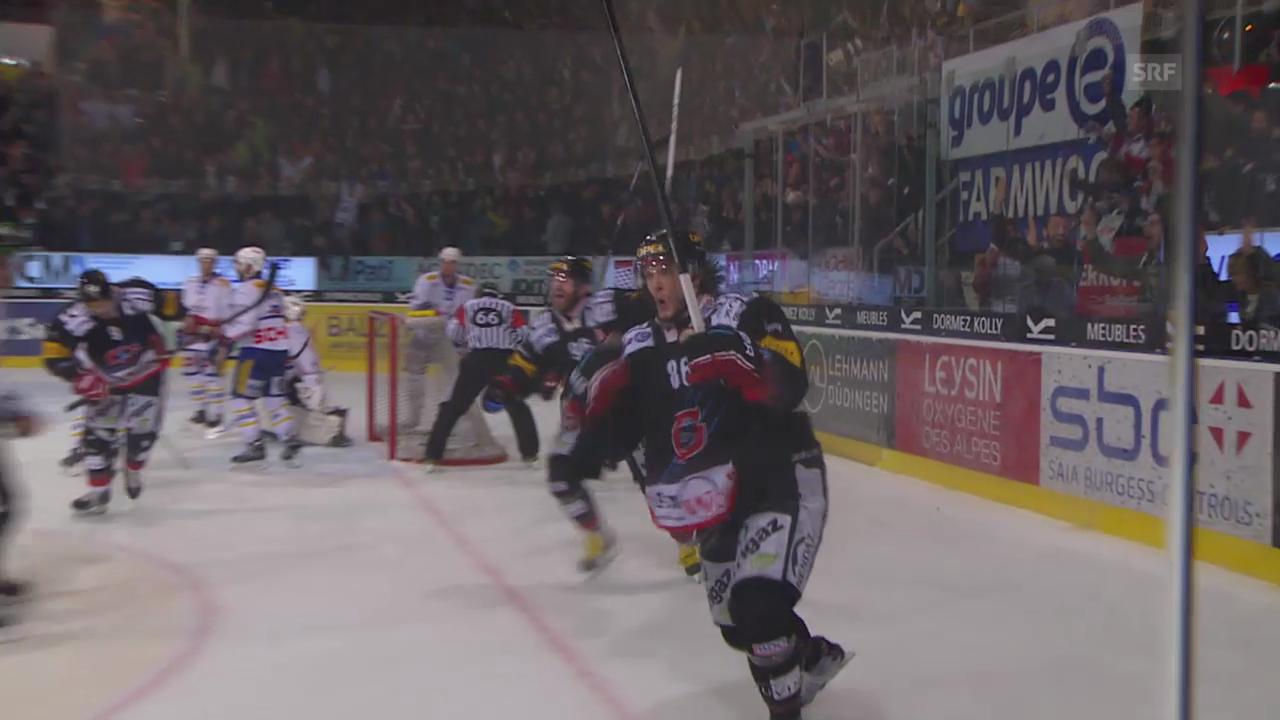 Eishockey: Julien Sprungers Ausgleich 4 Sekunden vor Schluss lässt die Halle beben