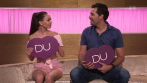 Video «Ich oder Du: Miss Schweiz Jastina Doreen Riederer & Bruder Tommy» abspielen