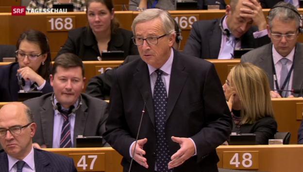 Video «Jetzt geht Juncker in die Steueroffensive» abspielen