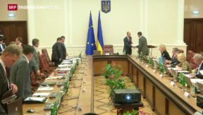 Video «Ukraine will Volk über territoriale Integrität abstimmen lassen» abspielen