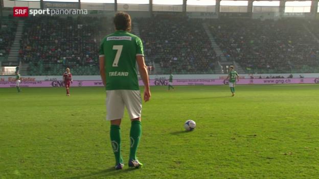 Video «Fussball: St. Gallen - Vaduz» abspielen