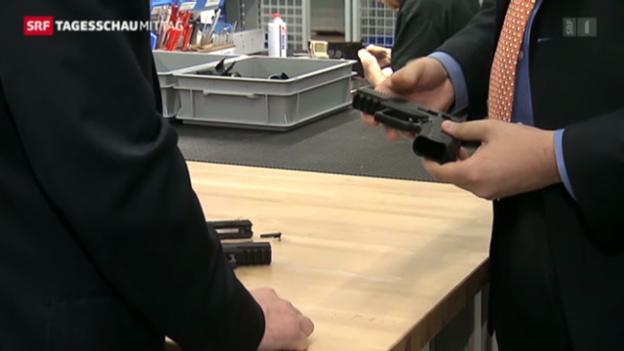 Video «Waffen-Code soll Sicherheit erhöhen» abspielen