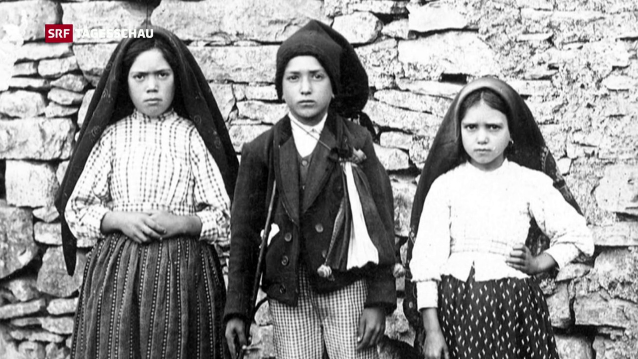Papst spricht zwei Hirtenkinder heilig