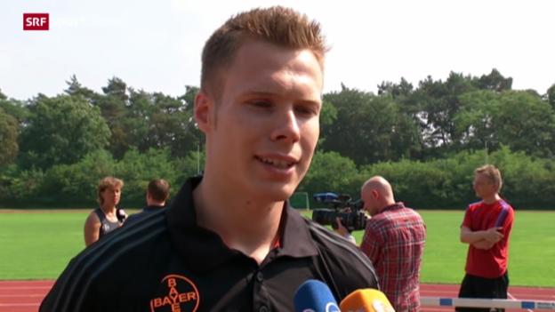 Video «Leichtathletik: Markus Rehm nicht an der EM» abspielen