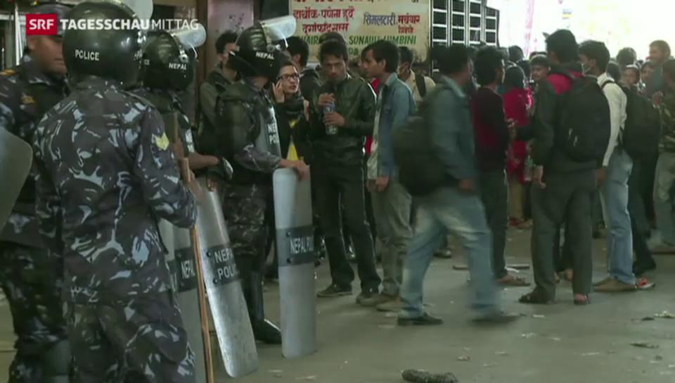Bevölkerung in Nepal kritisiert Regierung