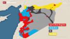 Video «Verworrene Situation in Syrien» abspielen
