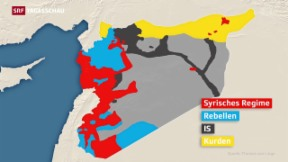 Video «Verworrene Situation in Syrien» abspielen