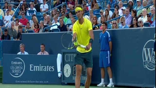 ATP Cincinnati: Highlights Nadal - Dimitrov (SNTV)