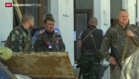 Video «Ukraine setzt Militäroffensive fort» abspielen