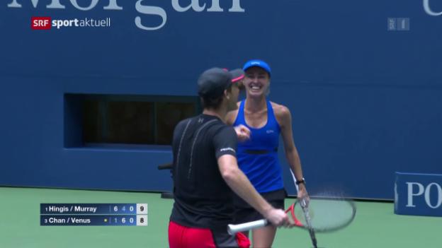 Video «Hingis/Murray holen sich den Titel im Mixed» abspielen