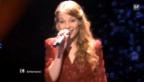 Video «Anna Rossinellis Auftritt am Eurovision-Halbfinal in Düsseldorf» abspielen