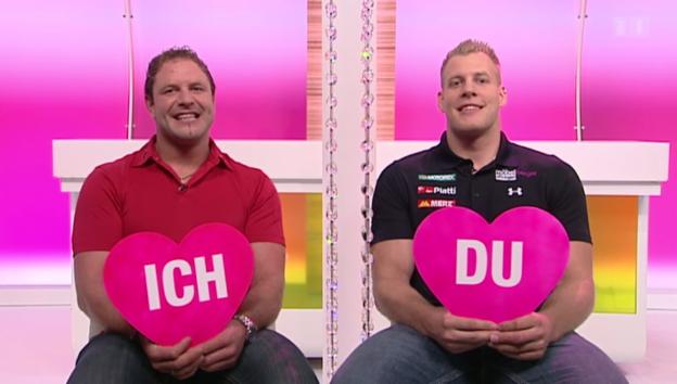 Video «Schwinger-Duell: Christoph Bieri und Alain Müller» abspielen