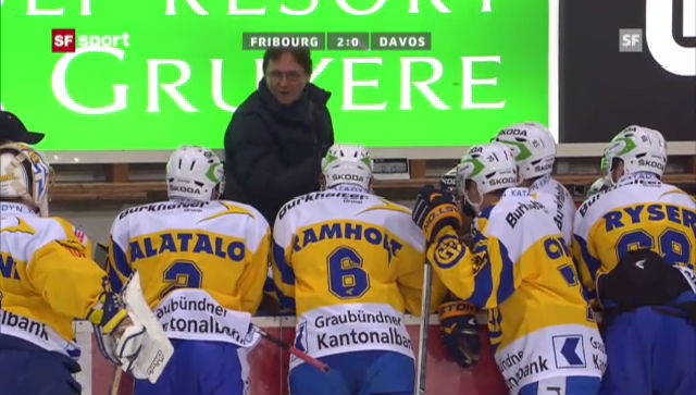 NLA: Fribourg - Davos