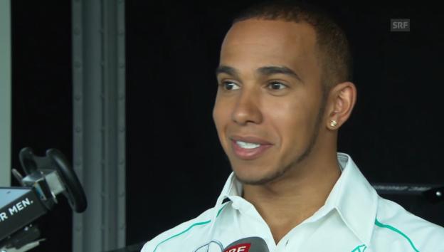 Video «Lewis Hamilton über die Liebe zu Roscoe» abspielen